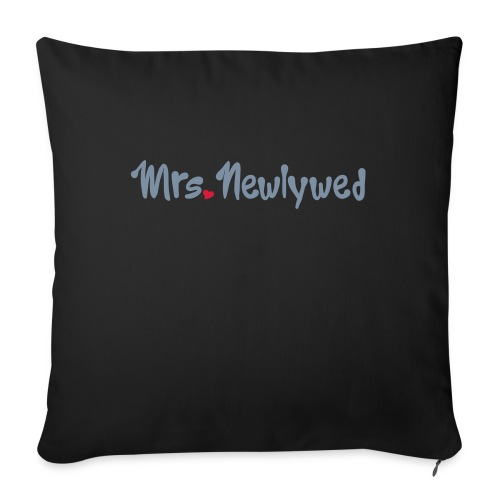 Mrs Newlywed - Sofa pillow with filling 45cm x 45cm