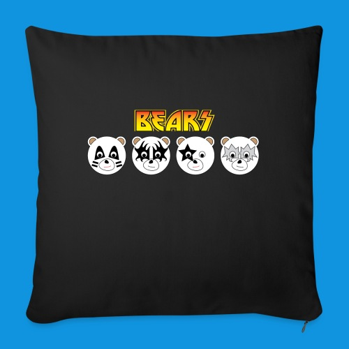 Kiss Bears.png - Sofa pillow with filling 45cm x 45cm