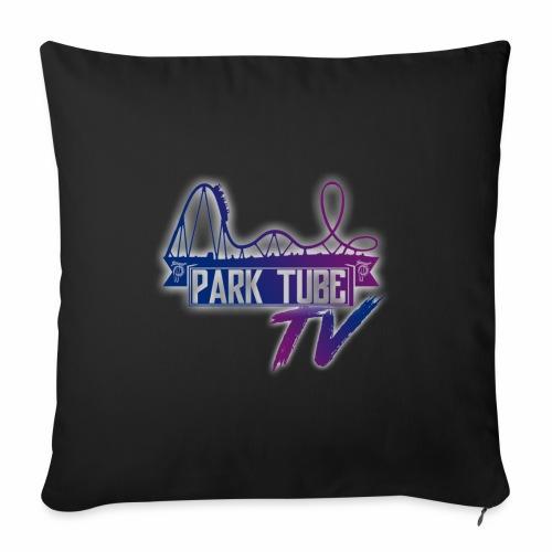 ParkTubeTV Logo - Sofakissen mit Füllung 44 x 44 cm