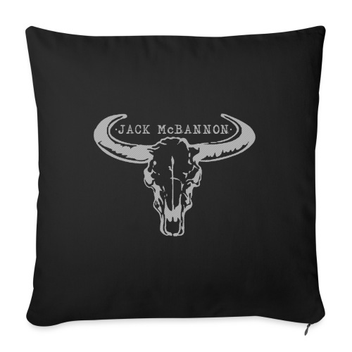 Jack McBannon - Bull Head - Sofakissen mit Füllung 44 x 44 cm