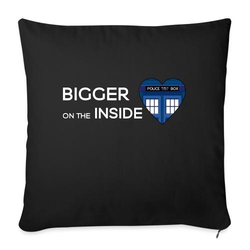 Tardis Heart - Sofa pillow with filling 45cm x 45cm