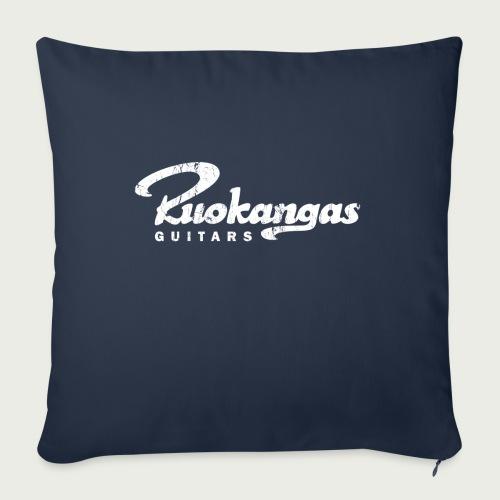 RuokangasGuitars white - Sofa pillow with filling 45cm x 45cm