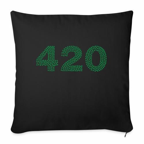 420 - Cuscino da divano 44 x 44 cm con riempimento