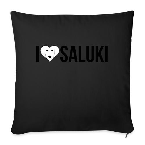 I Love Saluki - Cuscino da divano 44 x 44 cm con riempimento