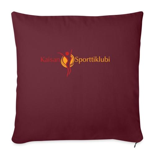 Kaisan Sporttiklubi logo - Sohvatyynyt täytteellä 44 x 44 cm