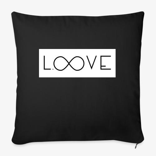 LOOVE Box Logo (SS18) - Cuscino da divano 44 x 44 cm con riempimento