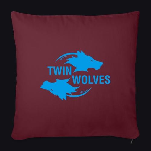 Twin Wolves Studio - Cuscino da divano 44 x 44 cm con riempimento
