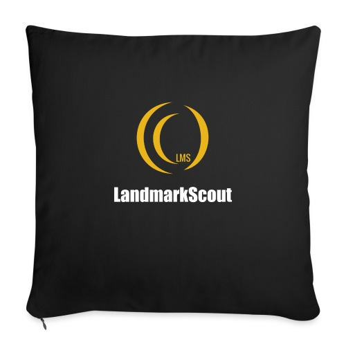 Tshirt Black Front logo 2013 png - Sofa pillow with filling 45cm x 45cm