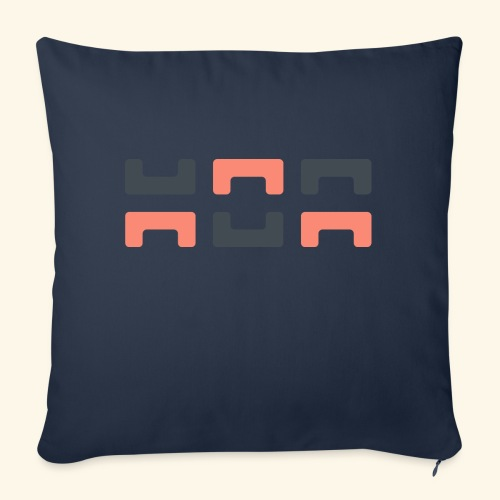 Angry elephant - Sofa pillow with filling 45cm x 45cm
