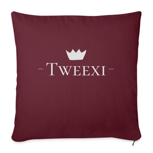 Tweexi logo - Soffkudde med stoppning 44 x 44 cm