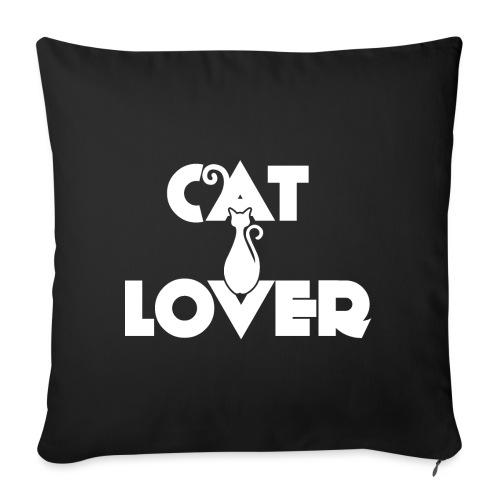 CAT LOVER | Vêtement Pour Femme Et Enfant - Coussin et housse de 45 x 45 cm