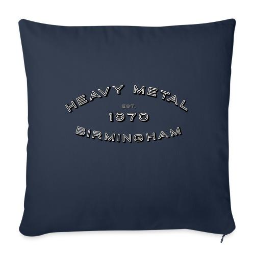 Heavy Metal / East.1970/Birmingham - Sofa pillow with filling 45cm x 45cm