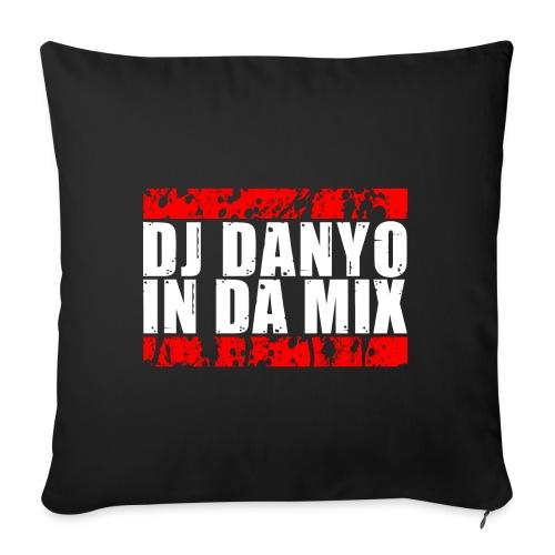 DJ Danyo Logo - Sofakissen mit Füllung 44 x 44 cm