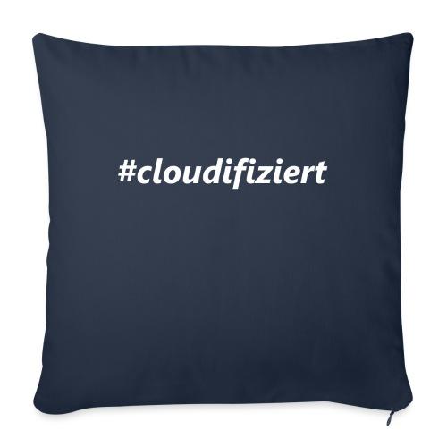#Cloudifiziert white - Sofakissen mit Füllung 44 x 44 cm