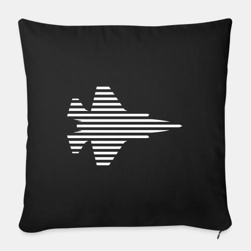F-35 Lightning II | F 35 | F35 | combat aircraft - Sofa pillow with filling 45cm x 45cm