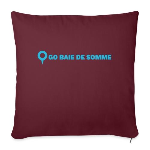 LOGO Go Baie de Somme - Coussin et housse de 45 x 45 cm