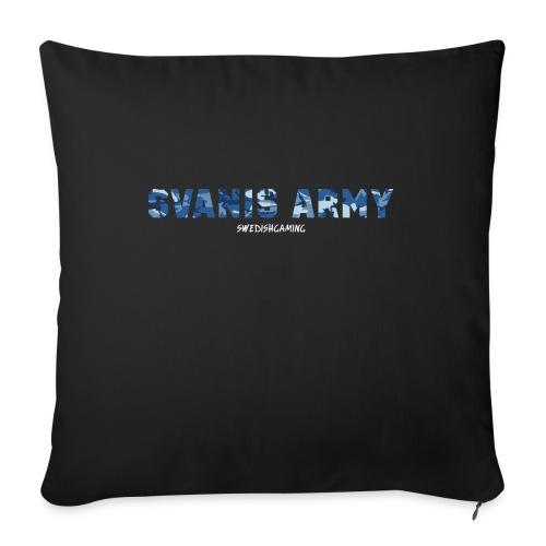 SVANIS ARMY, SWEDISHGAMING - Soffkudde med stoppning 44 x 44 cm