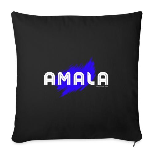 Amala, pazza inter (nera) - Cuscino da divano 44 x 44 cm con riempimento