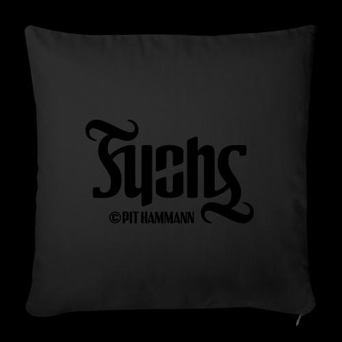Ambigramm Fuchs 01 Pit Hammann - Sofakissen mit Füllung 44 x 44 cm
