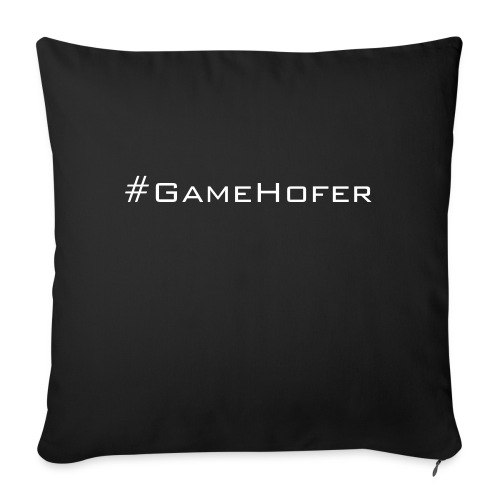 GameHofer T-Shirt - Sofa pillow with filling 45cm x 45cm