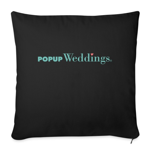 Popup Weddings - Sofa pillow with filling 45cm x 45cm