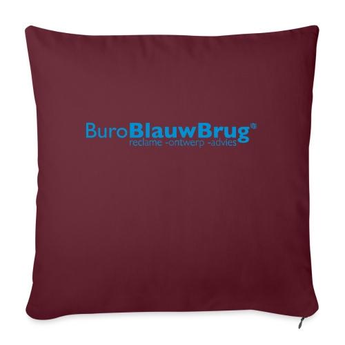 bbb_logo2015 - Sofa pillow with filling 45cm x 45cm