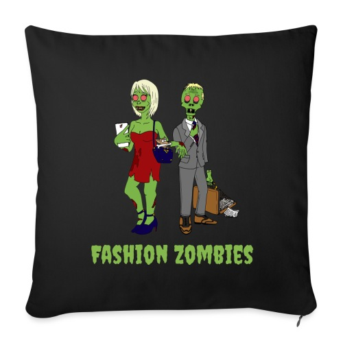 Fashion Zombie - Sofa pillow with filling 45cm x 45cm