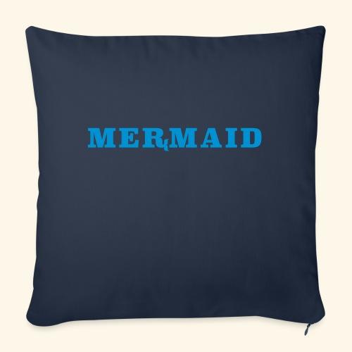 Mermaid logo - Soffkudde med stoppning 44 x 44 cm