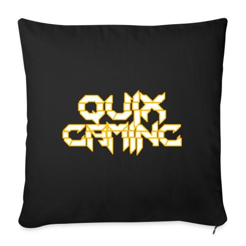 QuixGaming Simple Design - Sofapude med fyld 44 x 44 cm