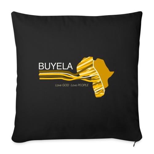 Buyela Africa loops - Sofakissen mit Füllung 44 x 44 cm