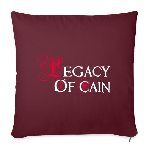 Legacy of Cain - Cuscino da divano 44 x 44 cm con riempimento