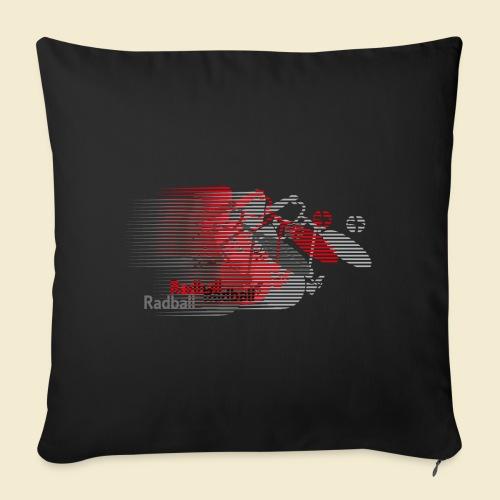 Radball   Earthquake Red - Sofakissen mit Füllung 44 x 44 cm