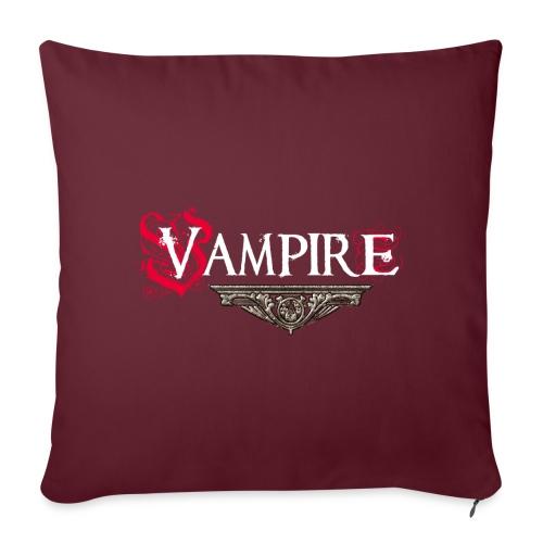 Vampire - Cuscino da divano 44 x 44 cm con riempimento