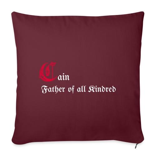 Cain father - Cuscino da divano 44 x 44 cm con riempimento