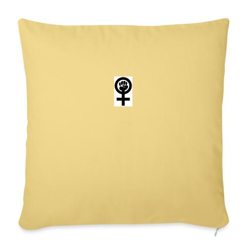 Feminism - Soffkudde med stoppning 44 x 44 cm