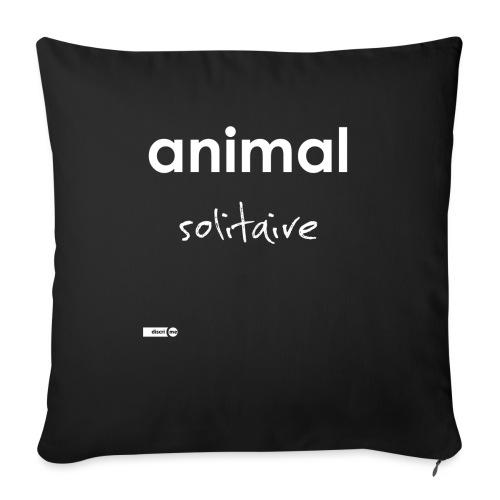 animal solitaire - Coussin et housse de 45 x 45 cm