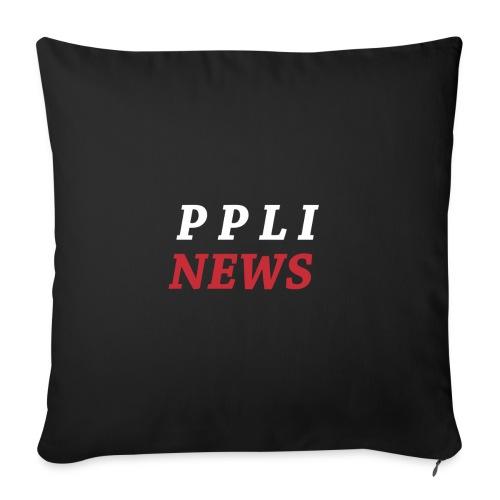 PPLI NEWS - Cojín de sofá con relleno 44 x 44 cm