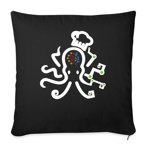 DT3 Octopus - White - Sofakissen mit Füllung 44 x 44 cm