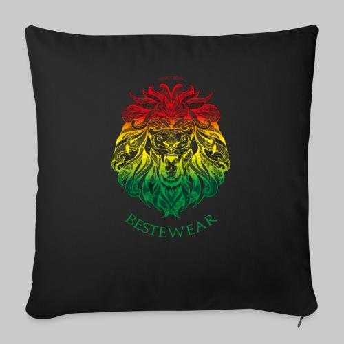 #Bestewear - Rastafari Lion - Sofakissen mit Füllung 44 x 44 cm