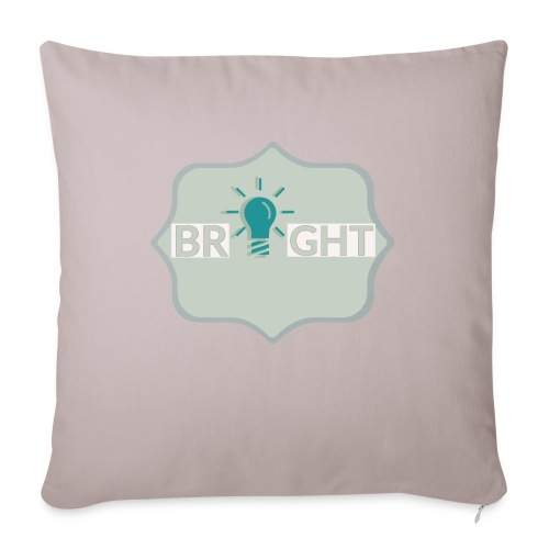 bright - Sofa pillow with filling 45cm x 45cm