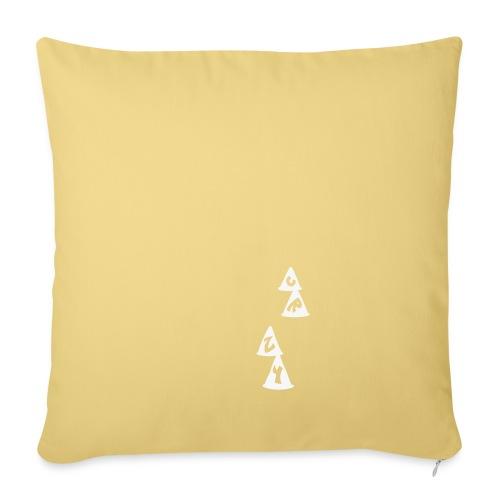 Conos CRZY: CR - Cojín de sofá con relleno 44 x 44 cm