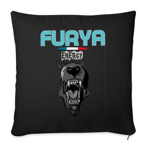 Furya Ours 2021 - Coussin et housse de 45 x 45 cm