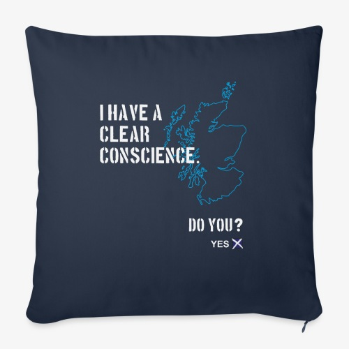 Clear Conscience - Sofa pillow with filling 45cm x 45cm