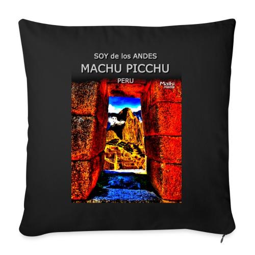 SOJA de los ANDES - Machu Picchu II - Sofakissen mit Füllung 44 x 44 cm