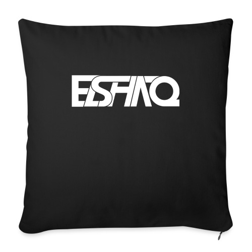 elshaq white - Sofa pillow with filling 45cm x 45cm