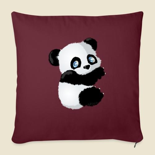 Bébé Panda - Coussin et housse de 45 x 45 cm