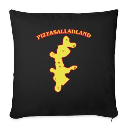 Pizzasalladland - Soffkudde med stoppning 44 x 44 cm