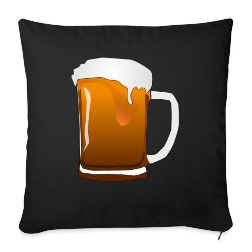 Cartoon Bier Geschenkidee Biermaß - Sofakissen mit Füllung 44 x 44 cm