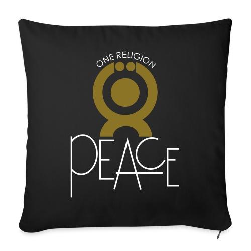 O.ne R.eligion Peace - Coussin et housse de 45 x 45 cm