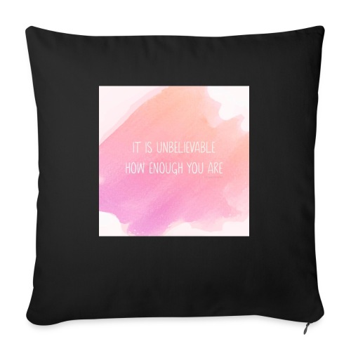 The Perfect Gift - Sofa pillow with filling 45cm x 45cm